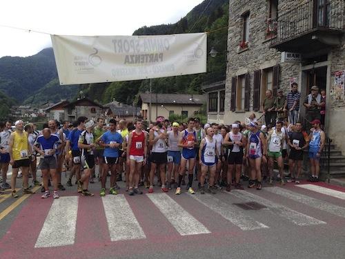 Massero Alpine Runner Partenza 2014